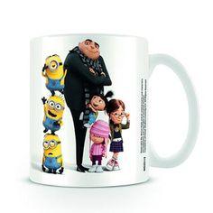 Minions With Gru & Girls Mug