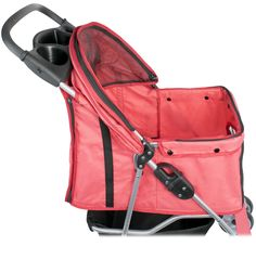 VIVO-4-Four-Wheel-Pet-Stroller-Cat-Dog-Foldable-Carrier-Strolling-Cart