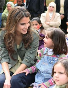 Queen Rania of Jordan, whom promotes equality for all and strives for the importance of education for women in countries where they have limited to no rights