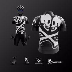 TOKIDOKI cycling jersey by BikeInside cycling wear Bike Wear, Cycling Wear, Cycling Jerseys, Cycling Outfit, Women's Cycling, Cycling Clothing, Mtb, Road Bike Gear, Swimming Sport