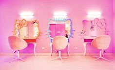 Hello Kitty dressing room!
