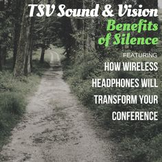 How Wireless Headphones Will Transform Your Conference - TSV - TSV Sound & Vision Nationwide Event Production Sound & Vision, Wireless Headphones, Conference, Country Roads, Reading, Creative, Projects, Log Projects