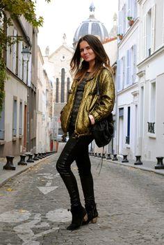 love the IM gold jacket