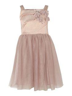 Girls bodice dress