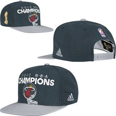 Adidas Miami Heat 2012 NBA Finals Champions Locker Room Hat  27.99 Nba Store ae8738acc55e