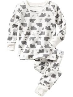 Graphic Sleep Set for Baby. Ezra 12 month, Benji 4T