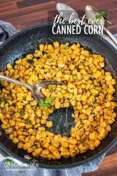 Quick and Easy Canned Corn Recipe