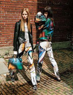 Louis Vuitton Spring/Summer 2016 Ad Campaign, Rianne van Rompaey、Sarah Brannon