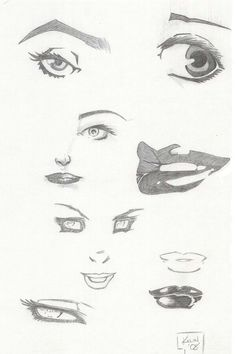 how to draw a wizards face
