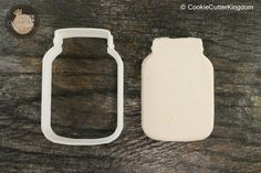 Nothing says southern charm better than a mason jar. The Mason Jar Cutter adds the perfect touch to any party....