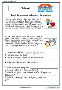 A Letter from Uncle Sam English Comprehension Worksheet – English Treasure Trove English Grammar For Kids, Learning English For Kids, English Worksheets For Kids, English Lessons For Kids, English Vocabulary, English Phonics, First Grade Reading Comprehension, Reading Comprehension Worksheets, Reading Fluency