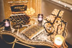 Great Gatsby Lolly Buffet - www.enchantedempire.com.au