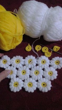 Flower Blanket Crochet Pattern – Salvabrani - The Gardeners Flowers Blanket Crochet Pattern - Salvabrani I would make a pot holder This Pin was discovered by Mai crochet net shawl with flowers Crochet Diagonal Granny Square by Divonsir Borges Crochet Be Crochet Daisy, Crochet Flower Patterns, Crochet Blanket Patterns, Crochet For Beginners Blanket, Baby Blanket Crochet, Crochet Flowers, Crochet Stitches, Knitting Patterns, Easy Crochet