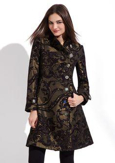 OMG This stuff is sooooo me! I miss dressing like me.DESIGUAL  Native Love Coat