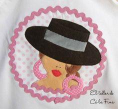 Cá la Fina. Camisetas flamencas para romerías 7