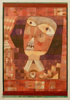 String Puppet in a Window 1932 Paul Klee