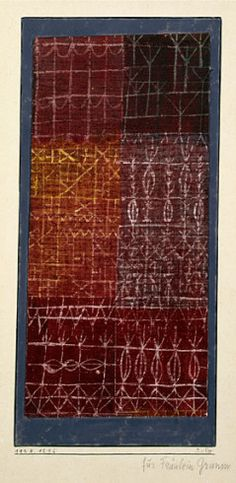 Collection Online | Paul Klee. Curtain (Vorhang). 1924 - Guggenheim Museum