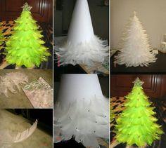 Kerstboom met spullen van Action