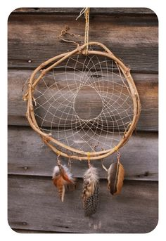 Grapevine Dream Catcher: My Tribute to the by pocketandpatch Dream Catchers, Native American Art, American Indians, Fun Crafts, Arts And Crafts, Suncatchers, Grape Vines, Wind Chimes, Weaving