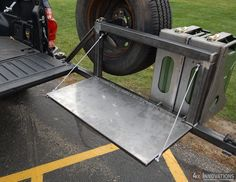 Swing Out Tire/Fuel Carrier