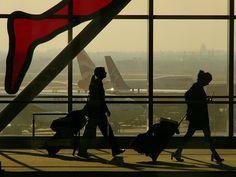 Toronto Airport...always sad to leave
