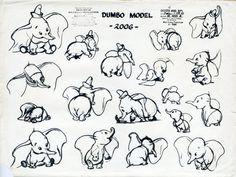 Dumbo Model Sheets - Michael Sporn Animation – Splog »