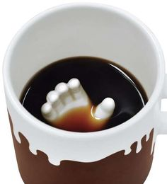 Submerged Hand Coffee Cups