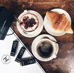 Imagen de coffee, chanel, and food