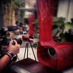 behind the scenes at kenneth cobonpue filming for the loudbasstard video  #loudbasstard
