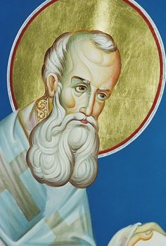 Saint Gregory the Theologian (329- 391 AD) Archbishop of Constantinople, on January 25