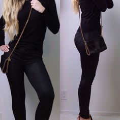 """Black Coated Glitter Skinnys ▪️I love these boutique pants. Black glitter coated skinnies. Chic and cool look. We wear a lot of black here in NY  and the secret is mixing different textures - these are PERFECT for that. High quality rayon knit material that is SOFT and comfy. Great stretch and easy to walk in. The glitter does not at all rub off. 5 pocket. High waist 10"""" rise. 29.5"""" inseam. 75% rayon 20% poly 5% spandex. New with tags. Sizes 0, 1, 3, 5, 7, 9, 11. Boutique Pants Skinny"""