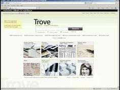 Trove is a search engine focusing on Australia and Australians. It is managed by the National Library of Australia.