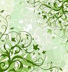 植物の蔓が織りなす模様。壁紙に使えそう。