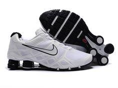 more photos 6cdf7 1ba40 Nike Shox Turbo 12 Shoes Mesh White Black Mens Nike Shox, Nike Shox Nz,
