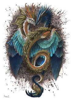 Dragons by Sunima.deviantart.com on @DeviantArt