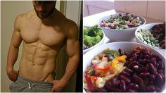 "Vegan Physique shares their ""Vegan Bodybuilding Meal Prep"" Vegan Athlete Meal Plan, Vegan Meal Plans, Vegan Meal Prep, Vegan Meals, High Protein Vegan Recipes, Vegetarian Recipes, Healthy Recipes, Vegan Protein, Veg Recipes"