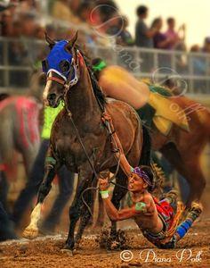 World Indian Relay Race in Sheridan Wyoming.