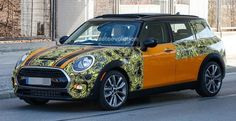 Spy shots of the 2016 Clubman!