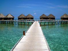 Overwater Villas - Mirihi Island, Maldives  www.reeftraveler.com
