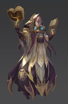 ArtStation - God of Destiny (model sheet), hall Hsu