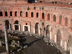 Ancient Roman Architecture: the Trajan's markets & the Pantheon