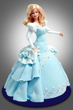 Pin lisjlt Charissa taulussa Cakes BarbieDoll Pinterest