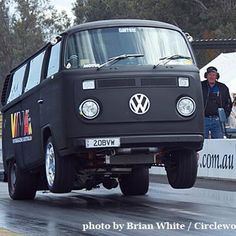 vw bus wheelie...Brought to you by House of Insurance in #Eugene #Oregon #Insurance for your #Classics #Cars, #Boats, #Motorcycles and #Trucks. Call for a #Quote on #auto #insurance 541-345-4191