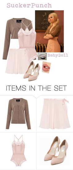 """Sucker punch"" by karanova ❤ liked on Polyvore featuring art, babydoll and suckerpunch"