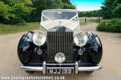 Love these classic Rolls Royce wedding cars