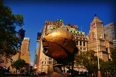 The Sphere. Battery Park, NYC