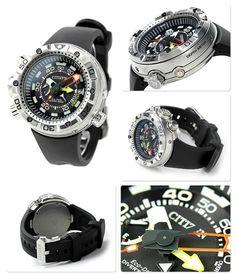 【楽天市場】シチズン プロマスター アクアランド エコ・ドライブ メンズ 腕時計 BN2021-03E CITIZEN PROMASTER MARINE ブラック:腕時計のななぷれ