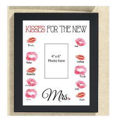 Kisses for the new Mrs. Bachelorette Sign 11 by DesignsByLindsayy