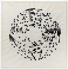Channa Horwitz, 'Round', 1977, 40 x 40cm each