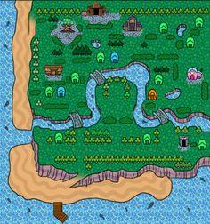 chibliscrossing:  Map of Squidoo.♥